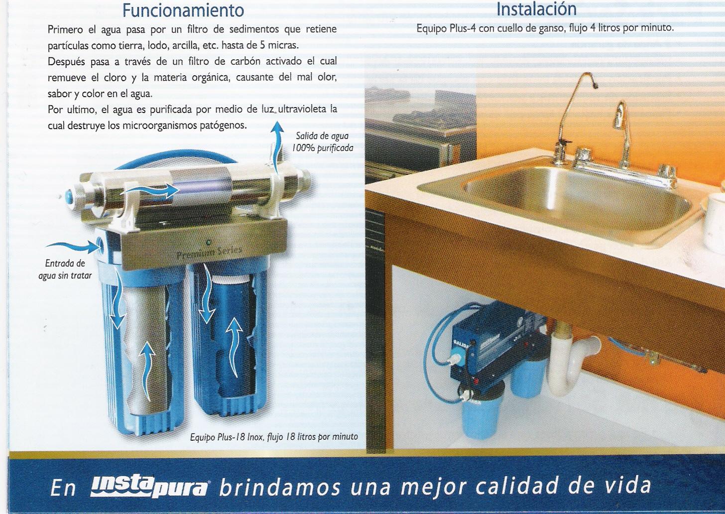 Grupo lynsol purificadores de agua for Purificadores de agua domesticos